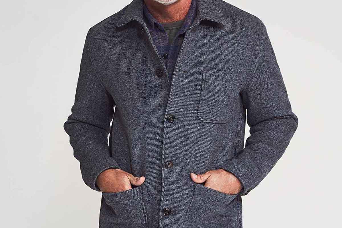 Melton Chore Coat