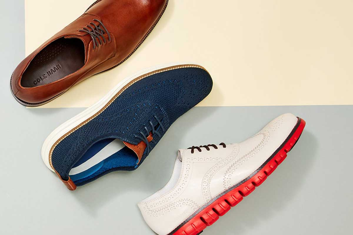A trio of Cole Haan styles on sale at Nordstrom Rack