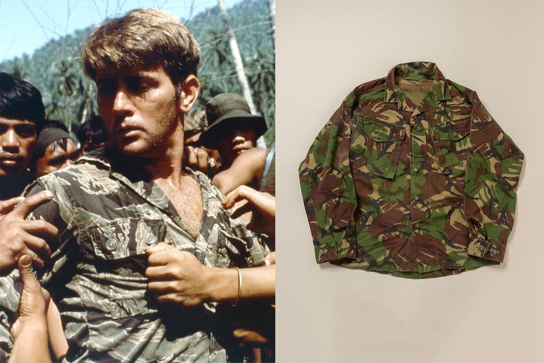 Martin Sheen on the set of the film Apocalypse Now