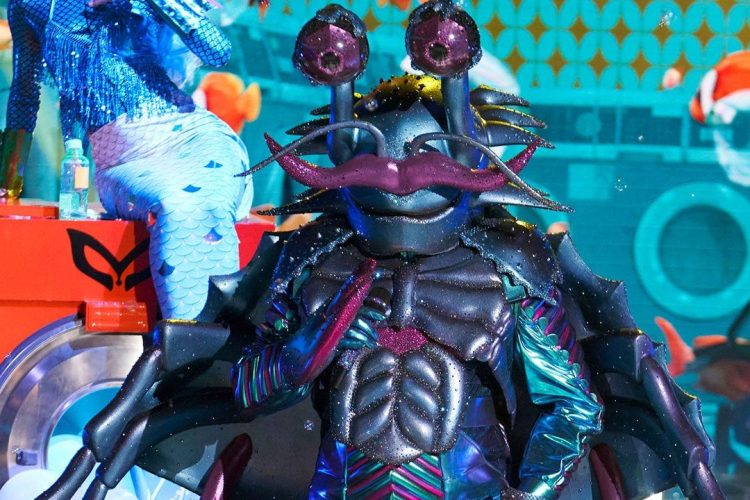 """Bobby Brown as The Crab on """"The Masked Singer"""""""