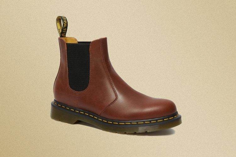 A Dr. Martens 2976 Classico Chelsea boot for men in brown leather