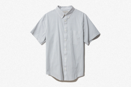 Everlane The Slim Fit Performance Air Oxford Short-Sleeve Shirt
