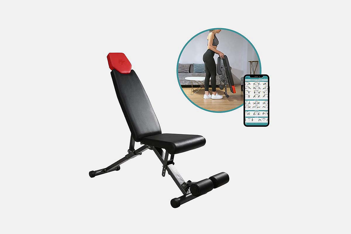 Finer Form 5-in-1 Adjustable Bench, now 43% off at Woot