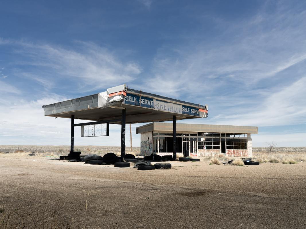 Gas station