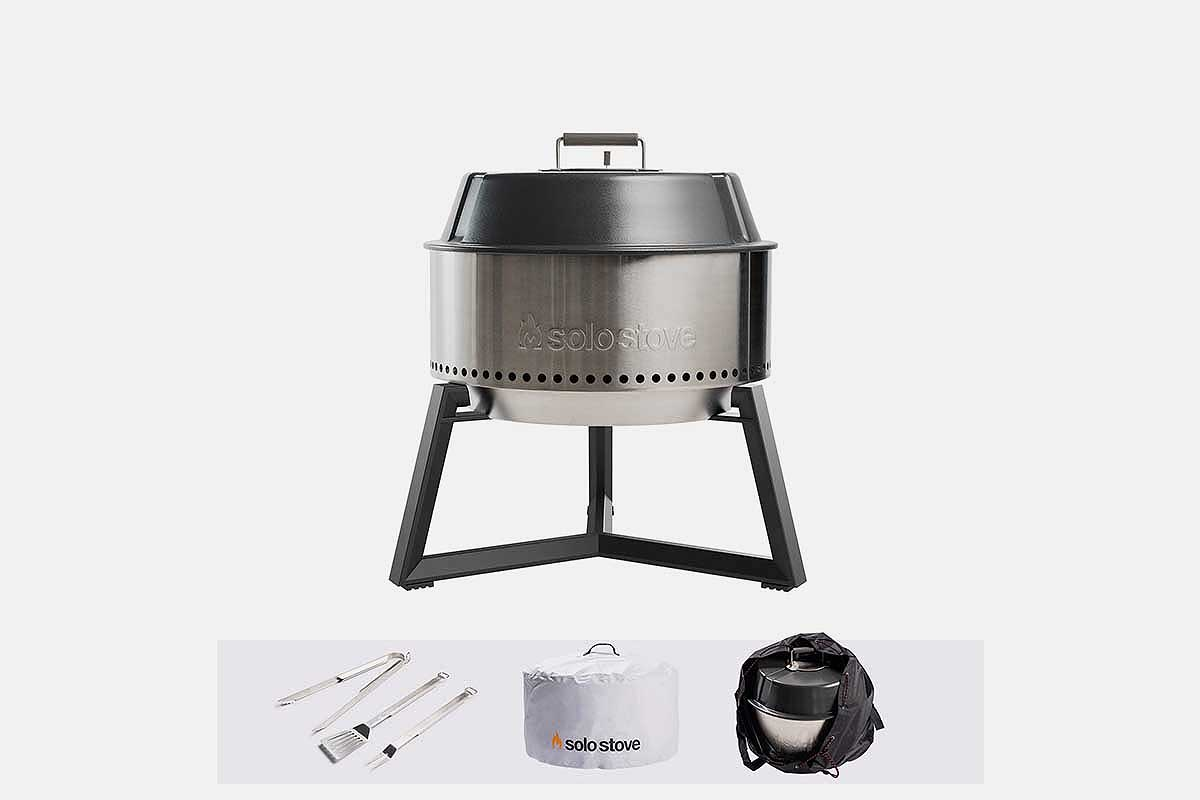 Solo Stove grill bundle with three accessories, now 32% off