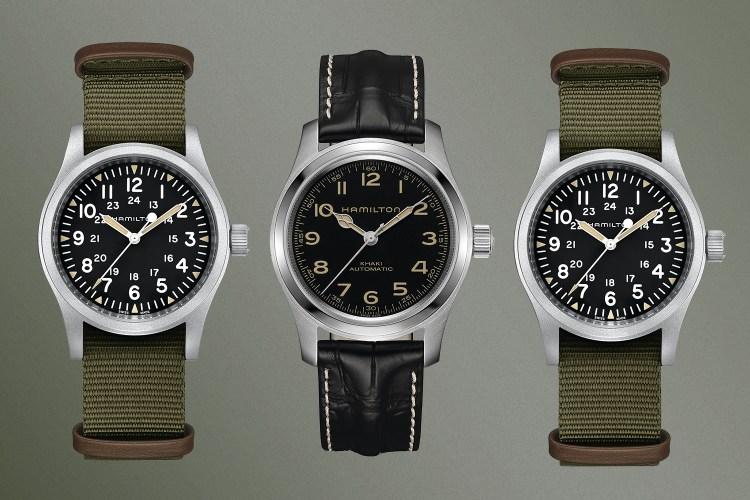 The Khaki Field Mechanical and Murph Auto watches from Hamilton