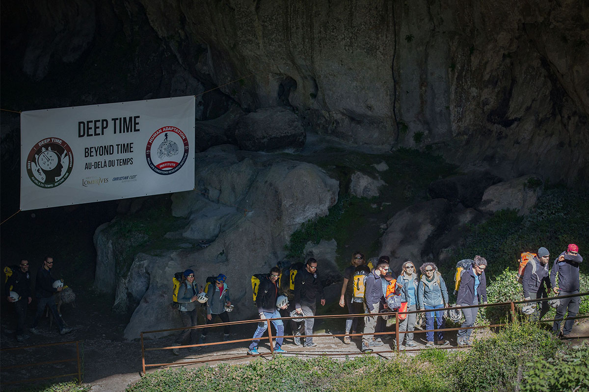 Volunteers emerge from Deep Time cave experiment in France