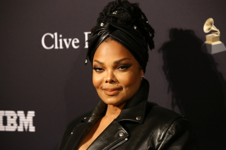 "Janet Jackson attends the Pre-GRAMMY Gala and GRAMMY Salute to Industry Icons Honoring Sean ""Diddy"" Combs at The Beverly Hilton Hotel on January 25, 2020 in Beverly Hills, California."