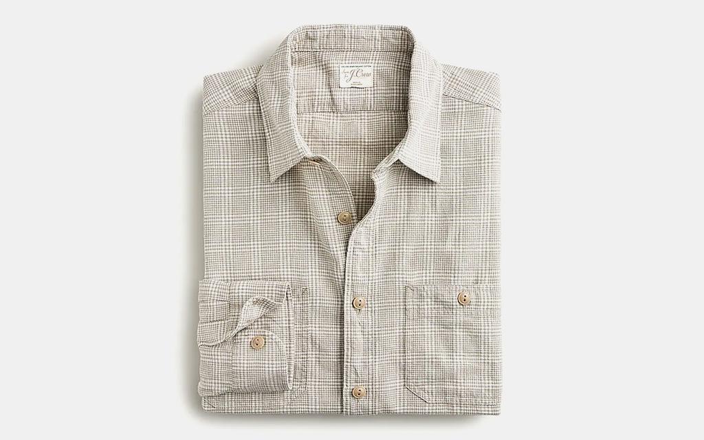 J.Crew Hemp-Organic Cotton Workshirt