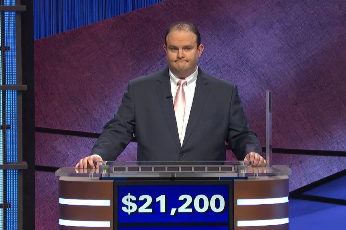 Kelly Donohue on Jeopardy