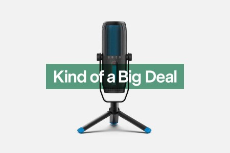 A JLab Audio USB microphone, now on sale at Amazon