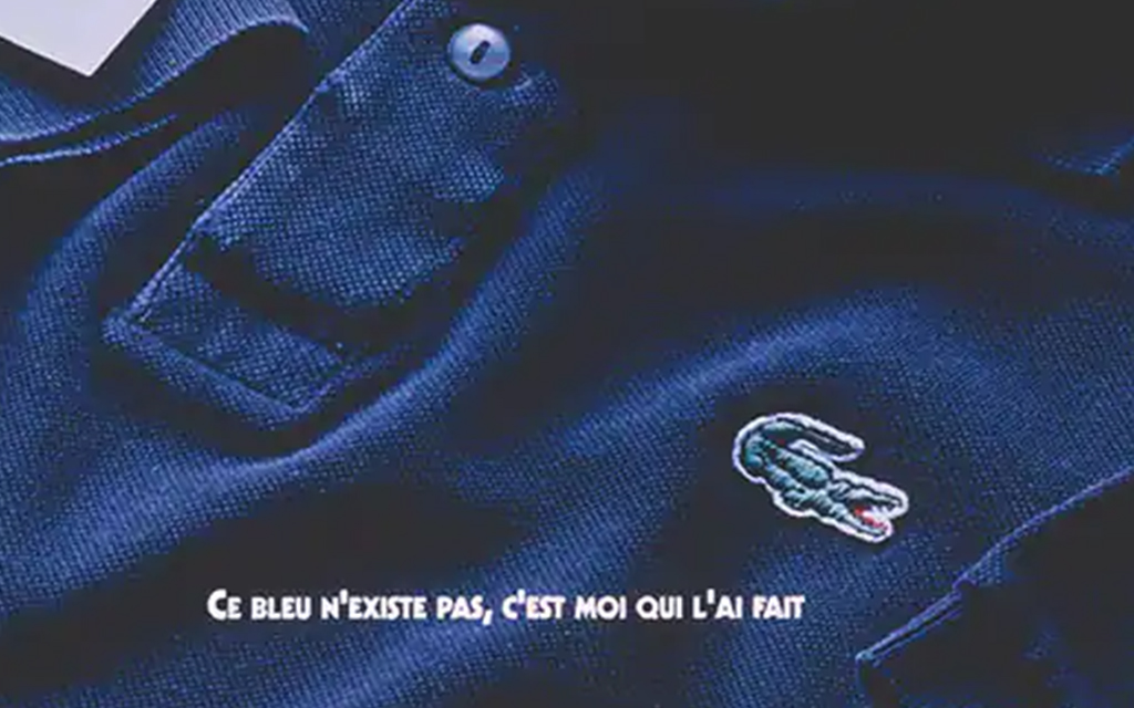 Lacoste Vintage 1993 French Advertisement