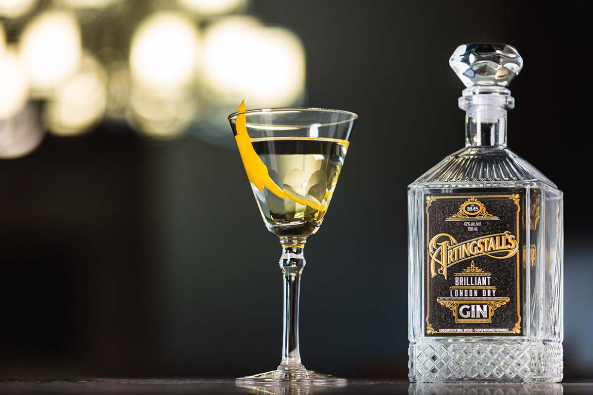 Artingstall's Gin martini with a twist