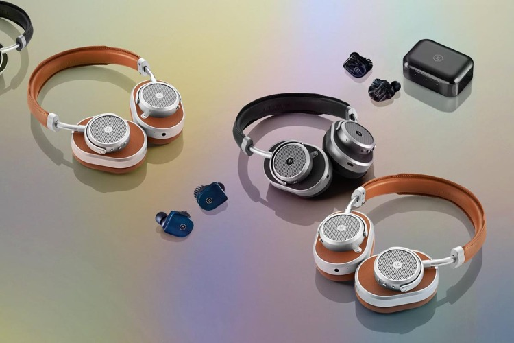 Various Master & Dynamic headphones and earbuds, now on sale at 25% off