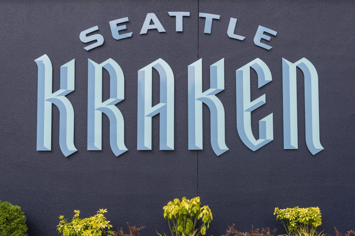 The logo for the Seattle Kraken, the NHL's newest franchise.
