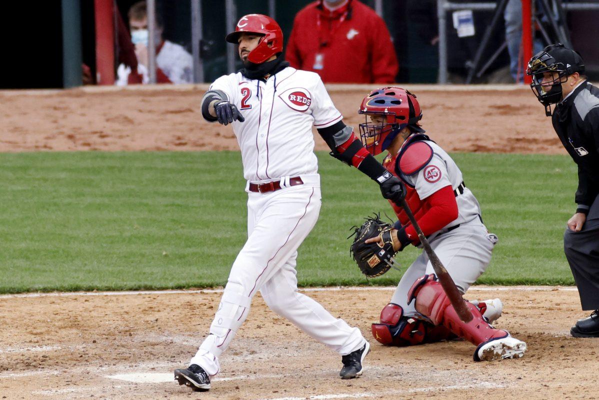 Nick Castellanos of Cincinnati Reds