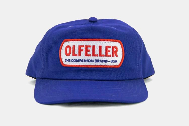 Olfeller Clark Tres Five Panel Cap in blue
