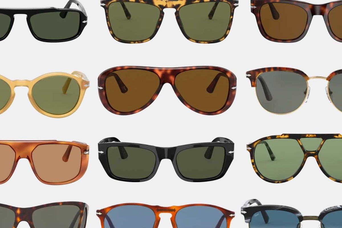 Iconic Persol sunglasses