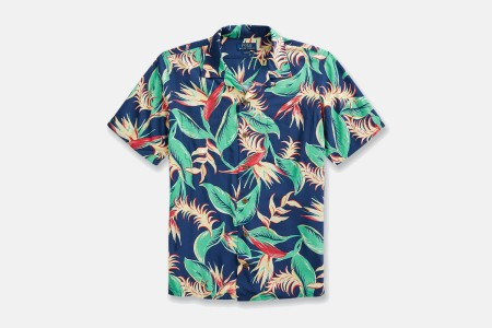 Polo Ralph Lauren Short Sleeve Rayon Woven Shirt