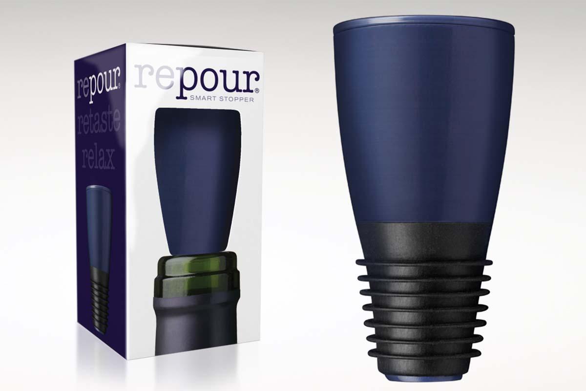 Repour wine device