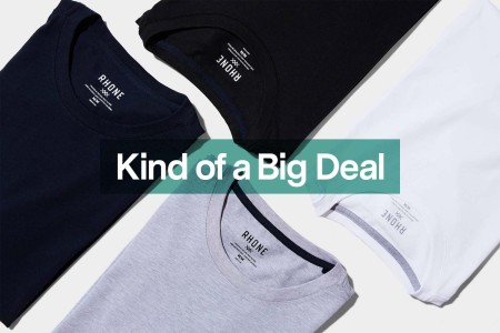 a set of Rhone shirts, now discounted