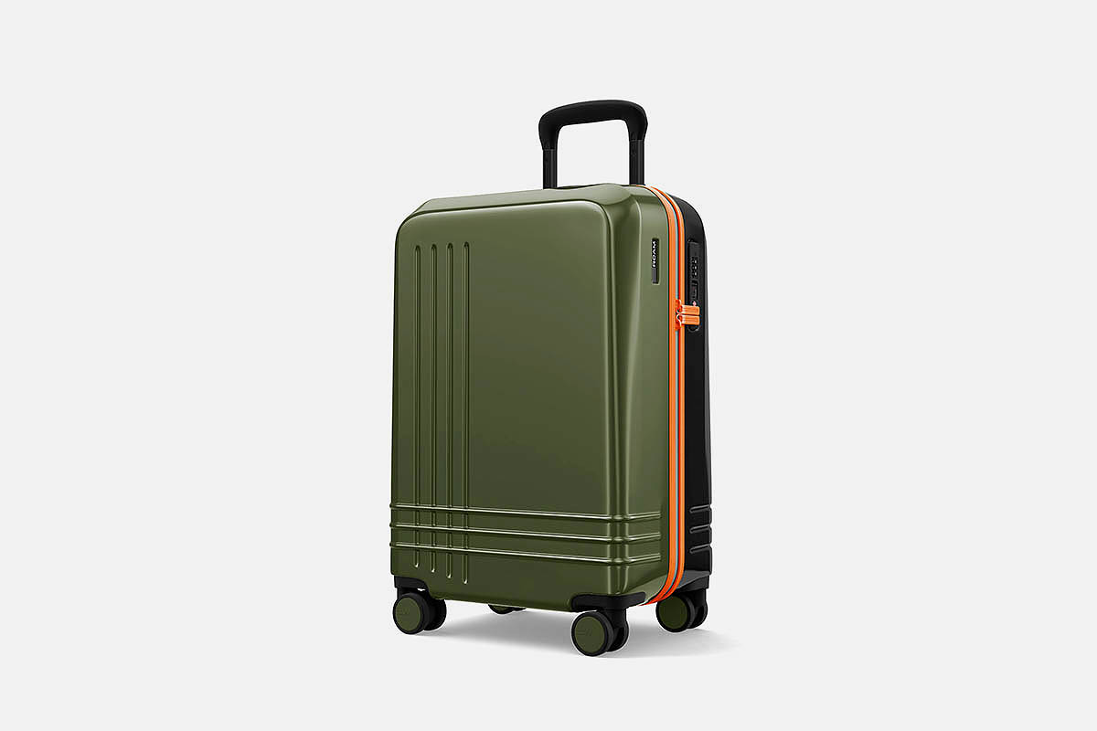 The Jaunt carry-on by Roam, now on sale