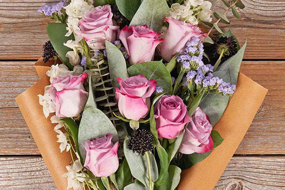 A Mother's Day bouquet from The Bouqs Co; the company will now double the number of blooms for a limited time