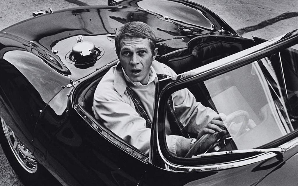 Steve McQueen wearing Baracuta's G9 Harrington Jacket