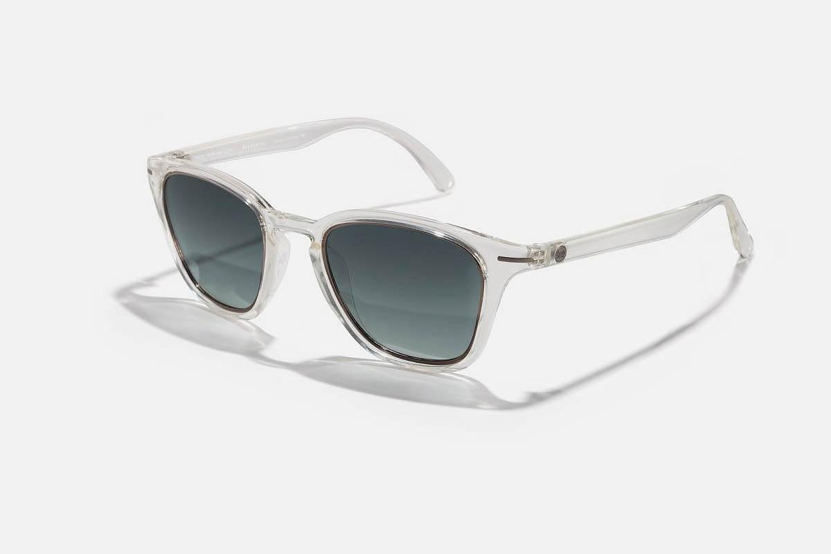 a pair of Sunski Andiamo Sunglasses