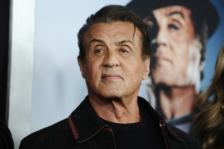 Sylvester Stallone at the premiere of Creed II in New York City