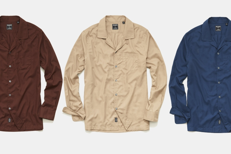 Todd Snyder Italian Twill Camp Collar Shirt