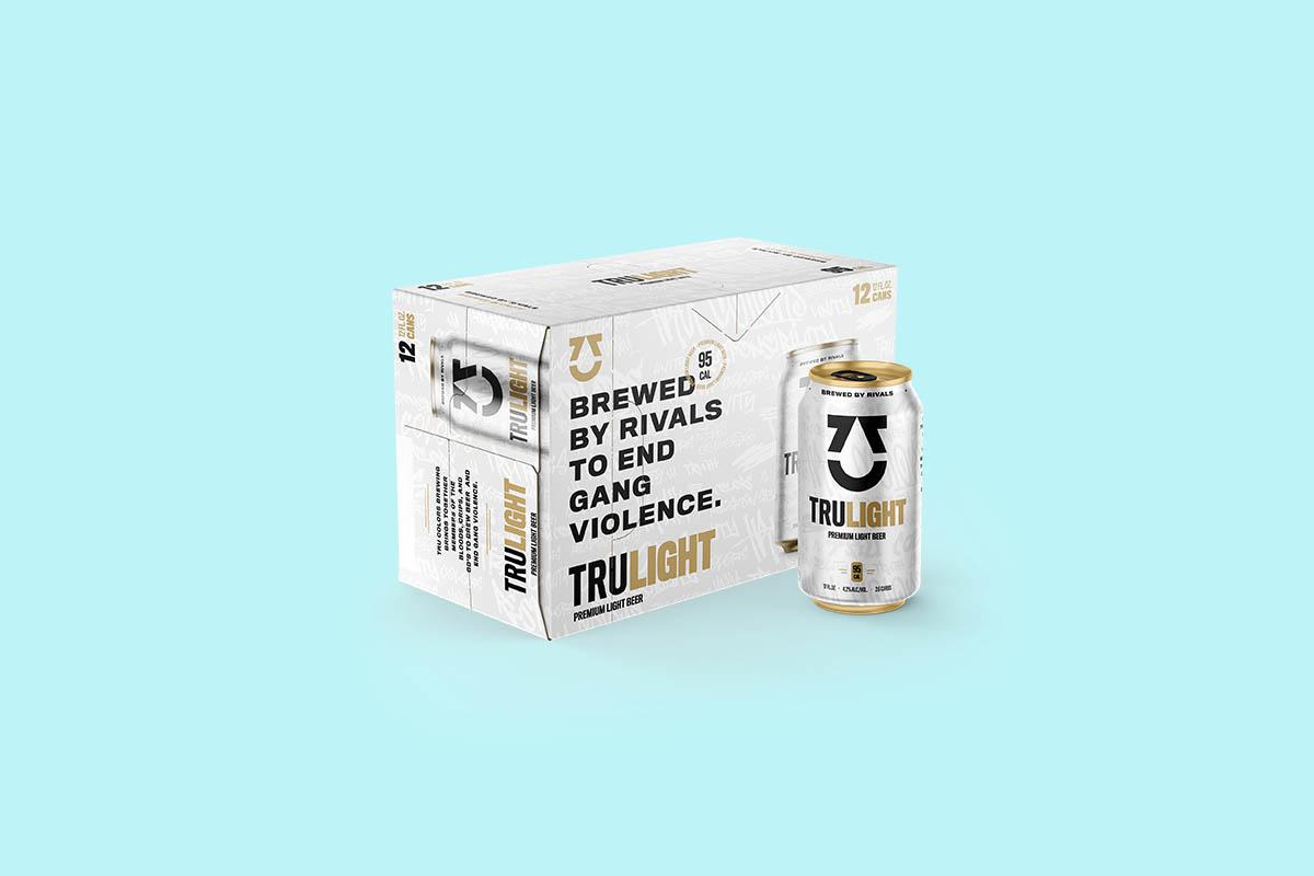 TRU Light beer from TRU Colors brewery, on sale in 2021