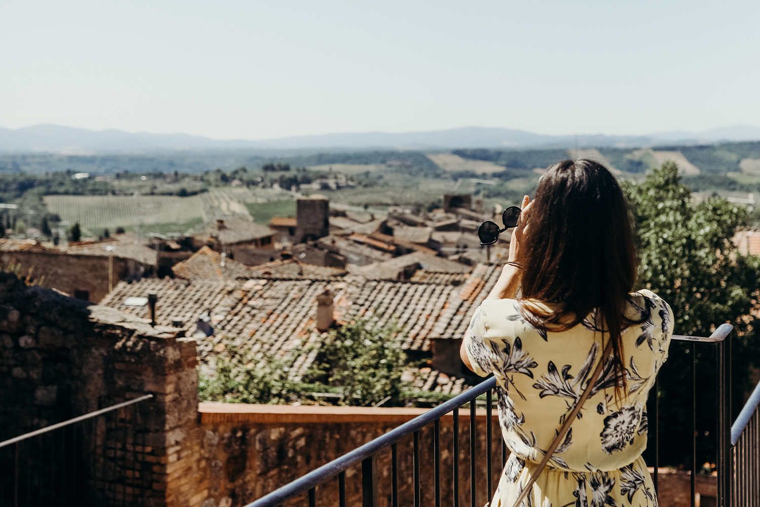 A FTLO traveler in Tuscany