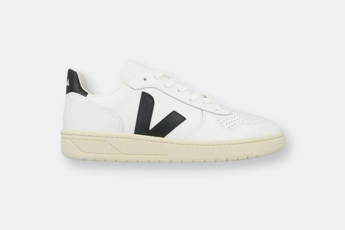 Veja V-10 Extra White / Black