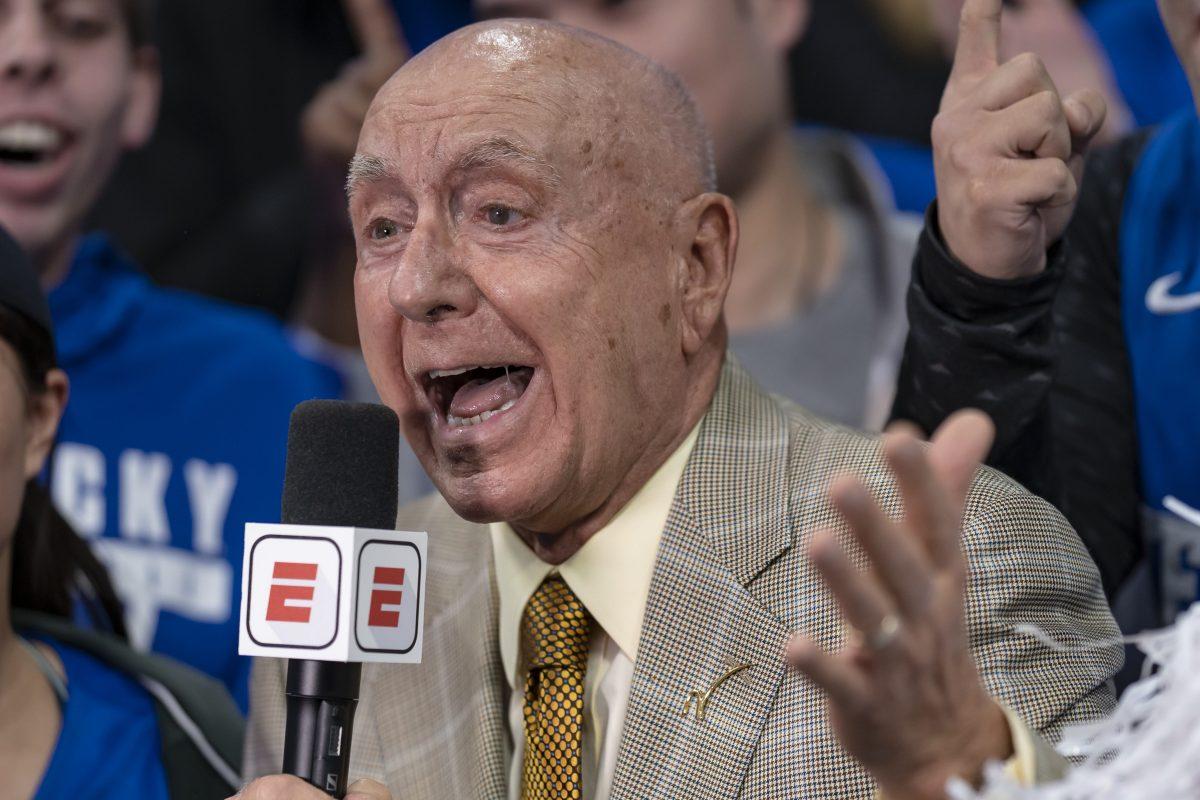 ESPN commentator Dick Vitale