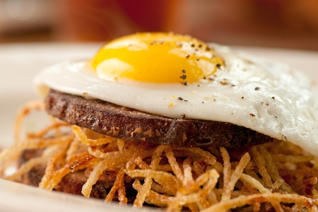 Stephanie Izard's Legendary Pig's Face Breakfast Sandwich