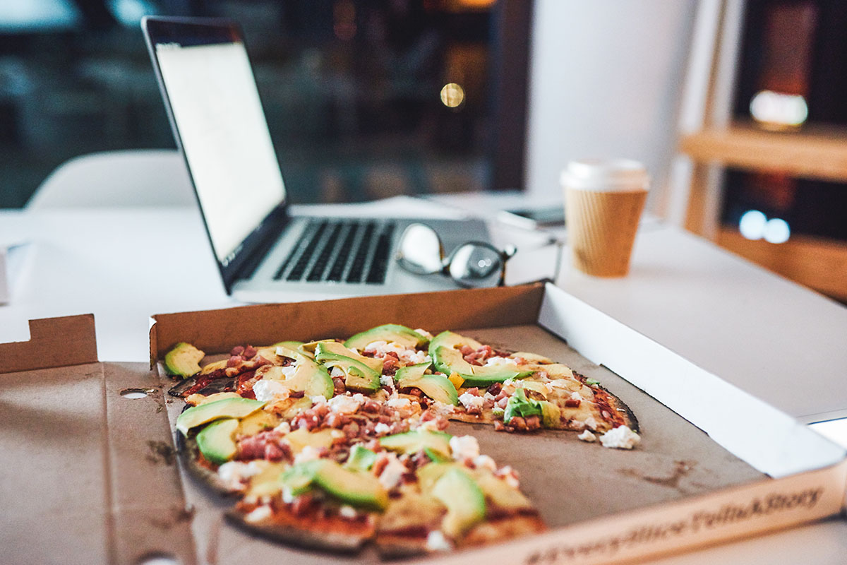 pizza work from home
