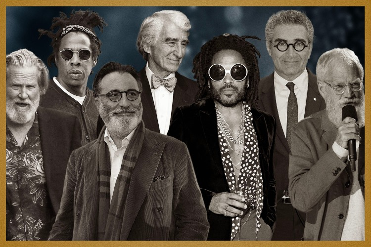 jeff bridges, jay z, lenny kravitz, eugene levy, david letterman