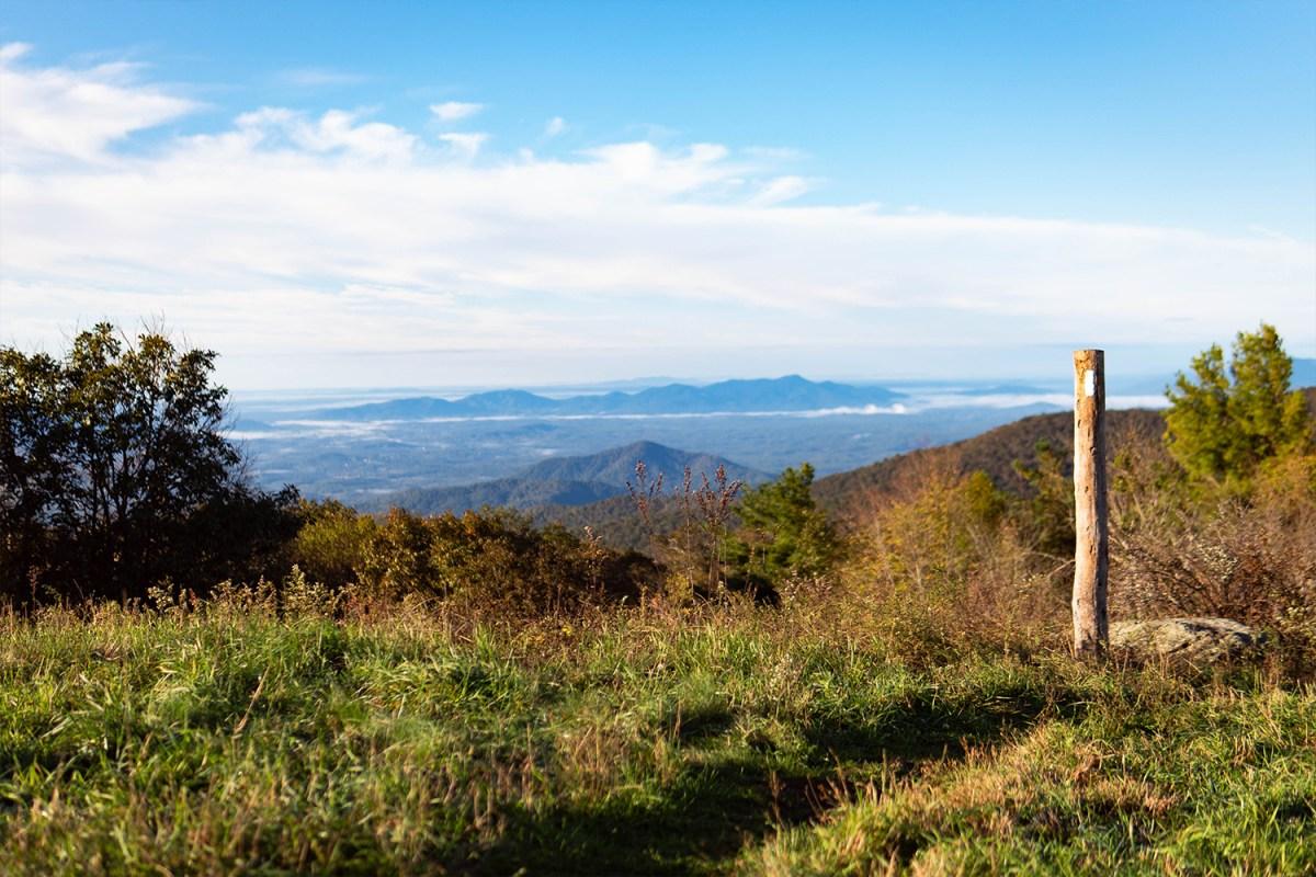Cole Mountain, Appalachian Trail