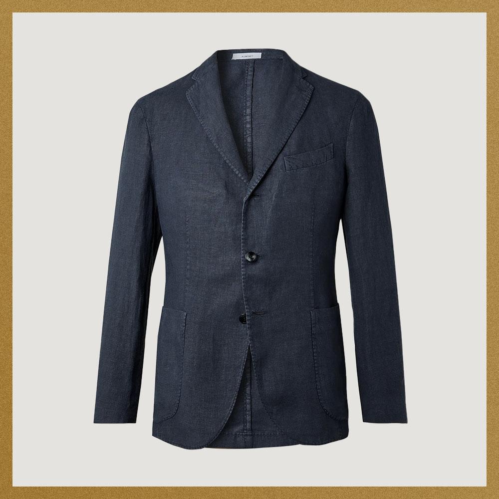 BOGLIOLI Linen Suit Jacket