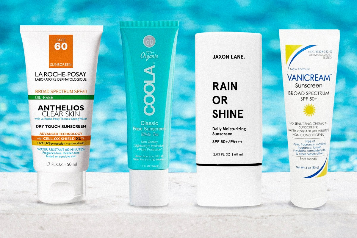 The Best Sunscreens for Your Manly Face, According to Dermatologists