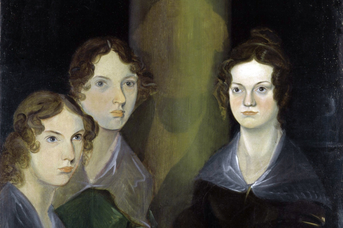 """Photo of """"The Bronte Sisters"""" painting by Patrick Branwell Bronte"""