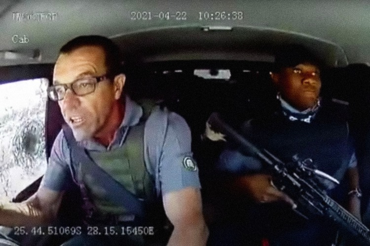 The Driver Who Miraculously Evaded an Armed Robbery Attempt Tells All