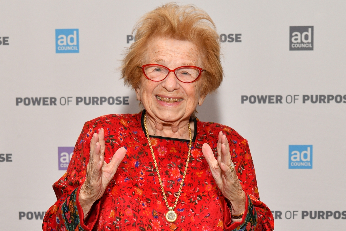 Dr. Ruth attends the 2019 Ad Council Dinner on December 05, 2019 in New York City.