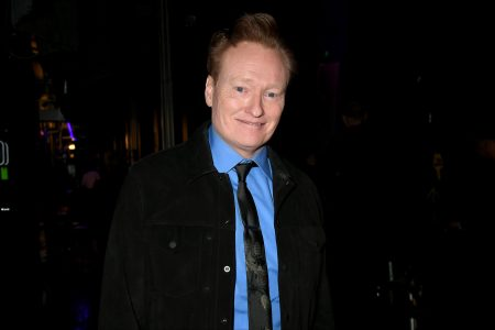 Conan O'Brien attends the 2020 iHeartRadio Podcast Awards at the iHeartRadio Theater on January 17, 2020 in Burbank, California.