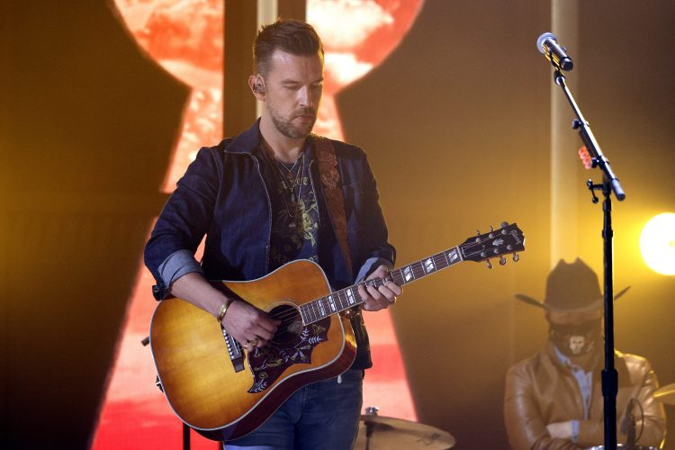 T.J. Osborne of Brothers Osborne performs onstage at the 56th Academy of Country Music Awards at the Ryman Auditorium on April 18, 2021 in Nashville, Tennessee.