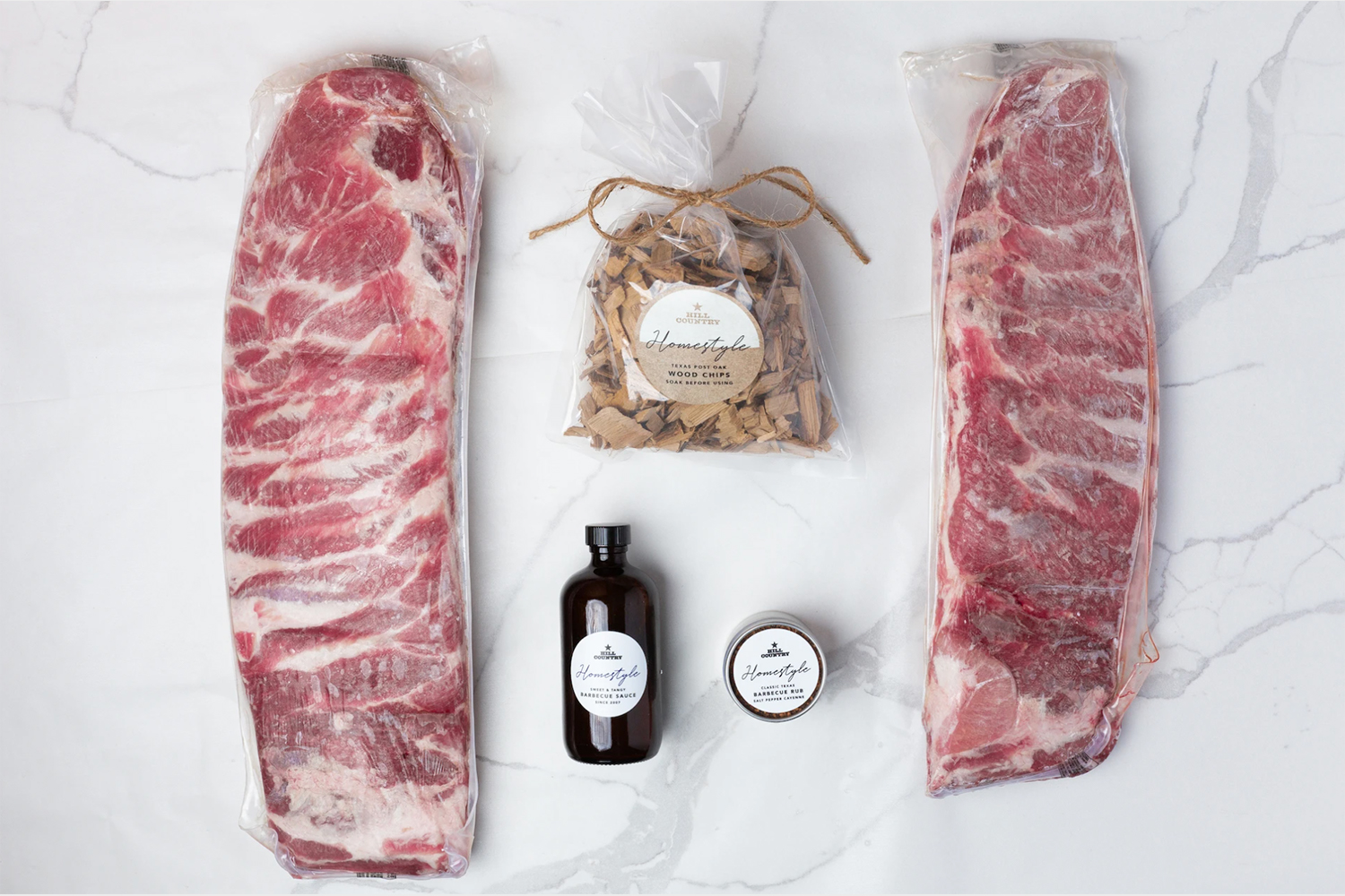 Hill Country Barbecue Rib Kit