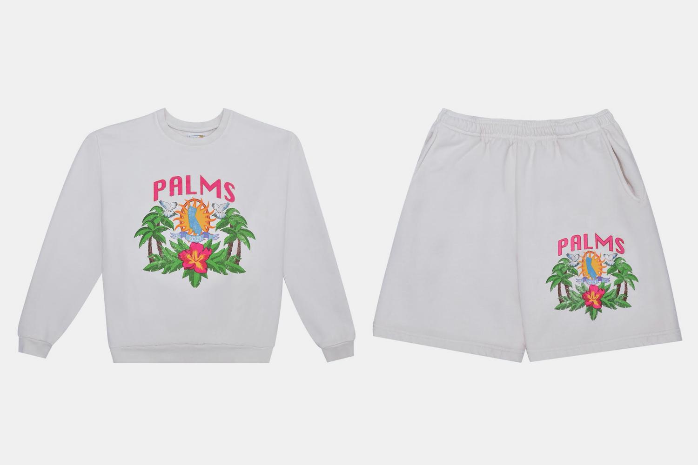 Palms Crewneck and Shorts