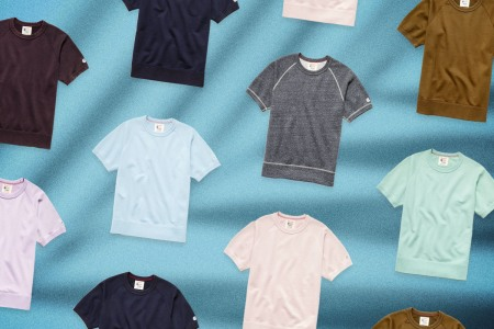The short sleeve sweatshirt: a criminally underrated garment if ever there was one.