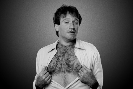 You Can Thank Robin Williams for the New Golden Age of Hairy Men